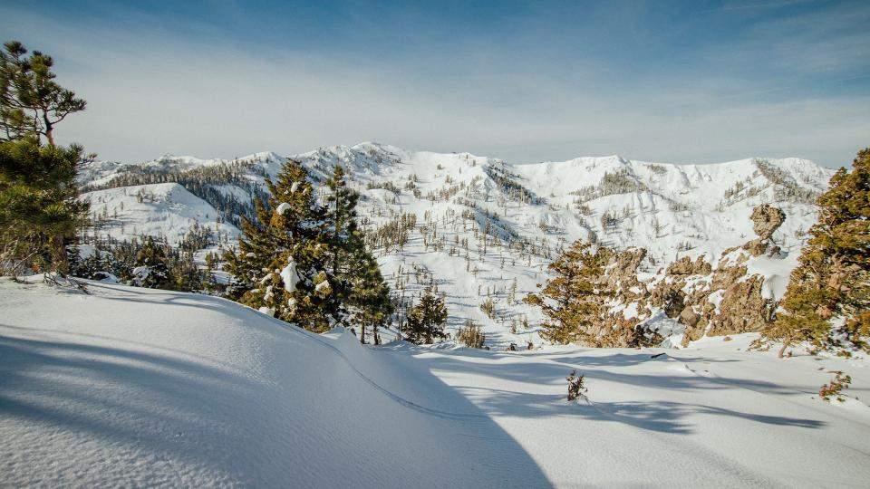 alpine ski area photo