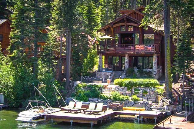 Donner Lakefront home