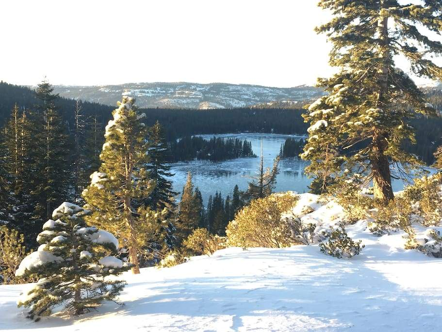 Serene Lakes winter