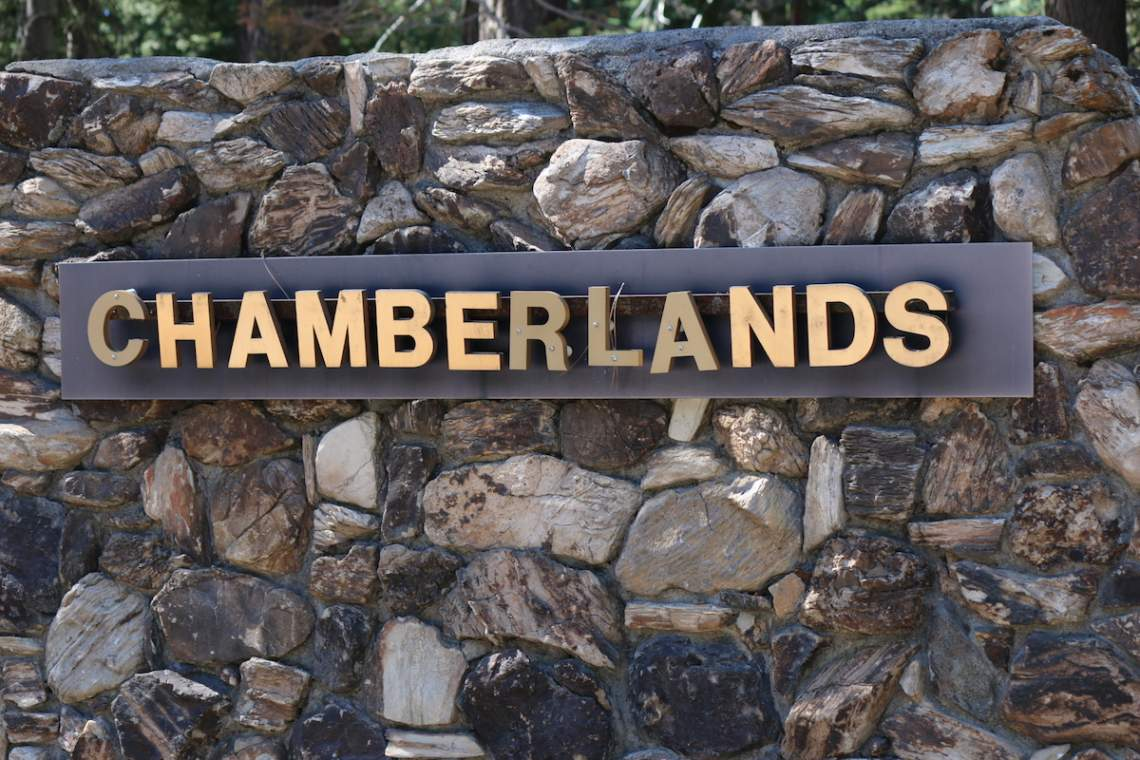 Chamberlands sign copy