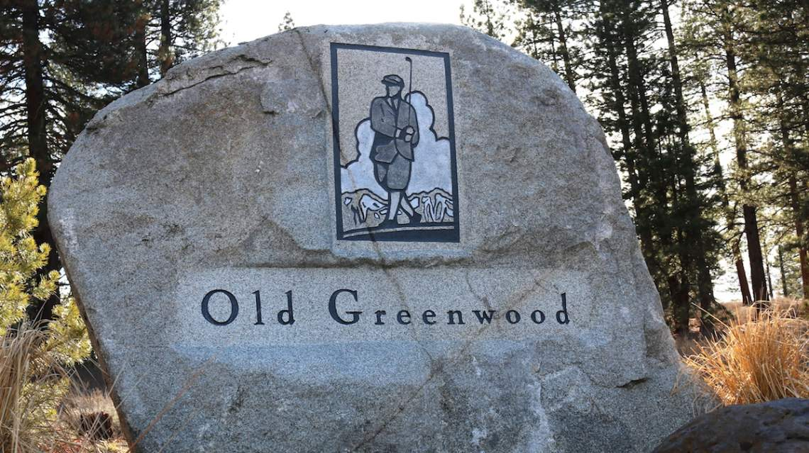 Old Greenwood sign copy